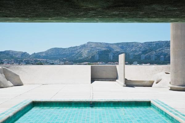 tetto piano-architettura moderna-le corbusier-unite d'habitation