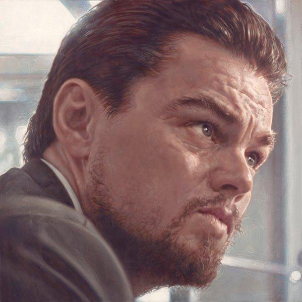 Leonardo DiCaprio - Realismo Pop Nuevo - Sebastian Krüger 1963