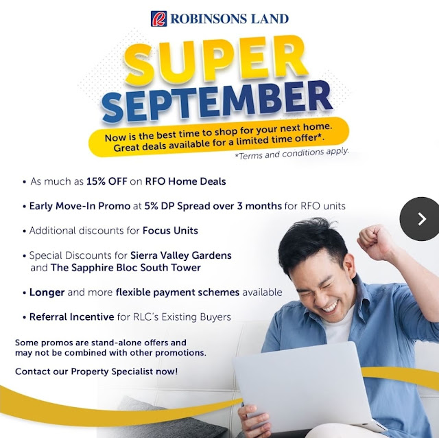 Super September Early Move In Promo