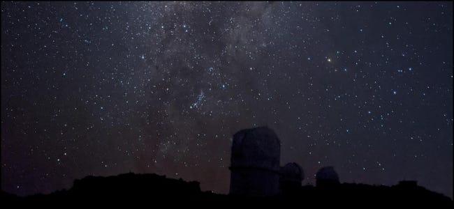 التصوير الفلكي نايت سكاي جوجل
