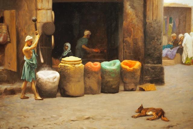 Musée Marmottan Monet - L'orient des peintre - Le marchand de couleurs - Gérôme