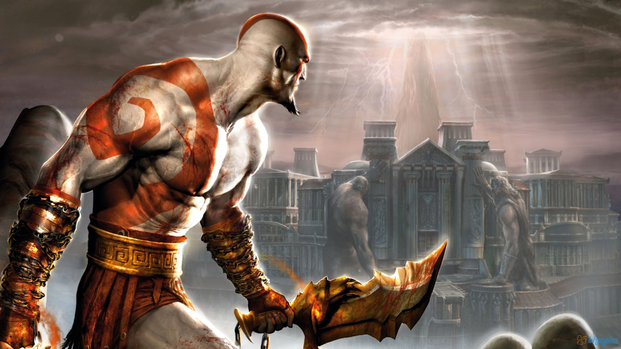 God Of War (USA) ISO PS2 For Android And PC @Cool Gaming Hub