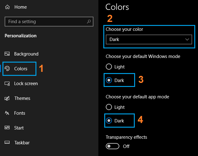 Langkah-langkah merubah Windows Explorer menjadi gelap