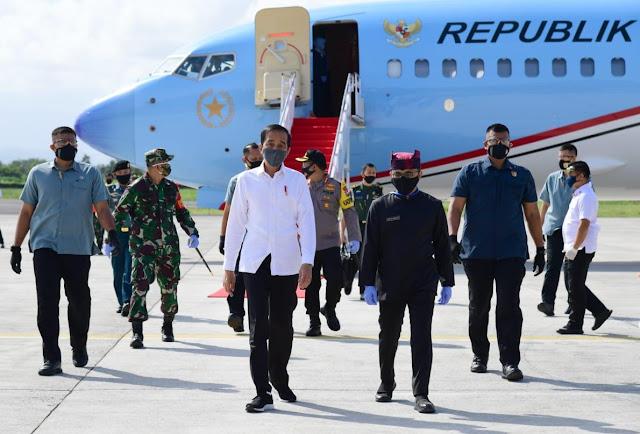 Usai Kunjungi Surabaya, Presiden Jokowi Bertolak ke Banyuwangi