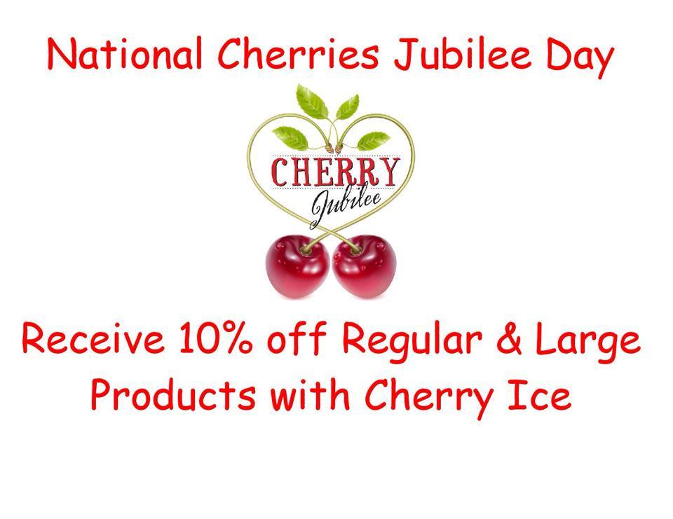 National Cherries Jubilee Day Wishes Photos
