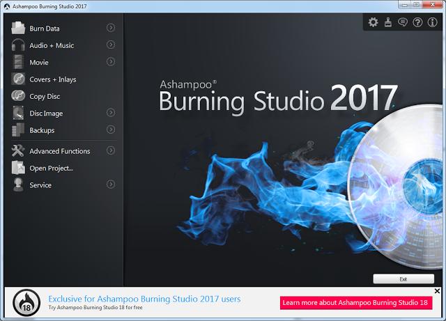 Ashampoo Burning Studio 2017 Serial Key