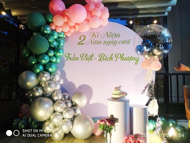 trang trí kỷ niệm ngày cưới tại hà nội