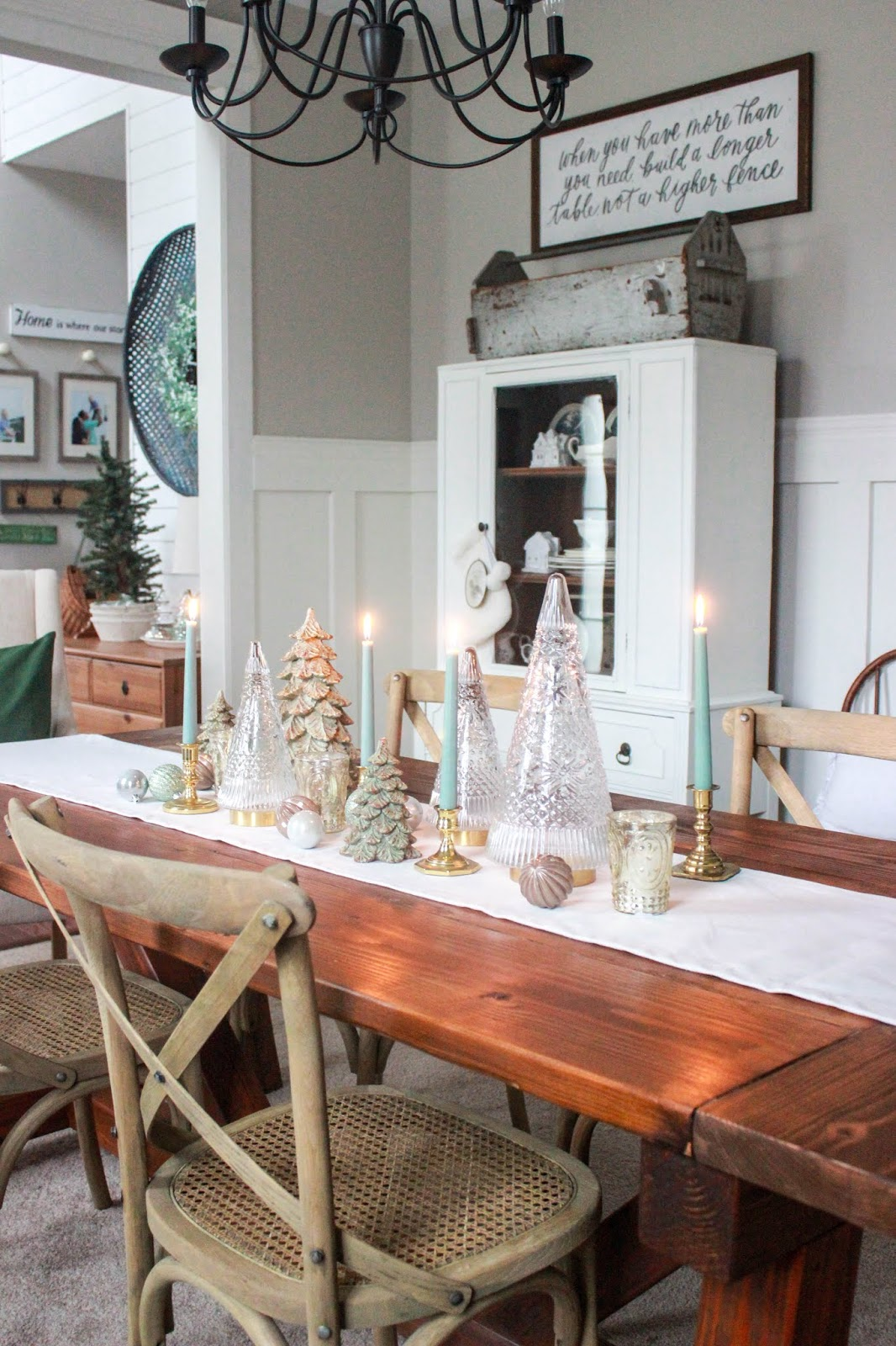 dining room christmas decoration ideas
