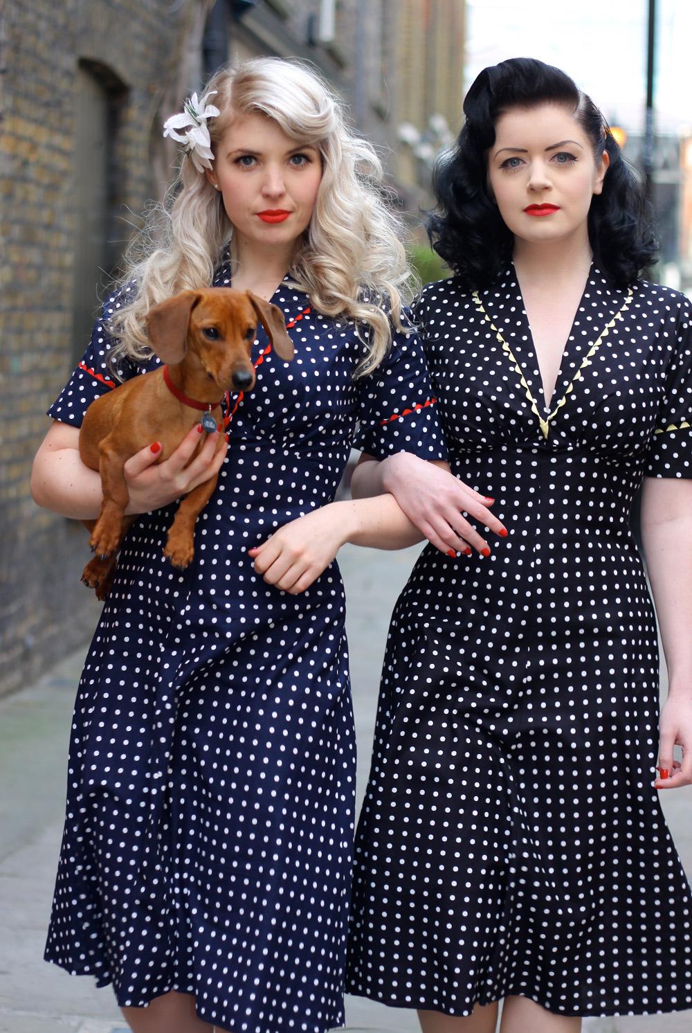 Tara Starlet 1940s 40s Style: Quality Time: Vtg Inspiration: Tara Starlet