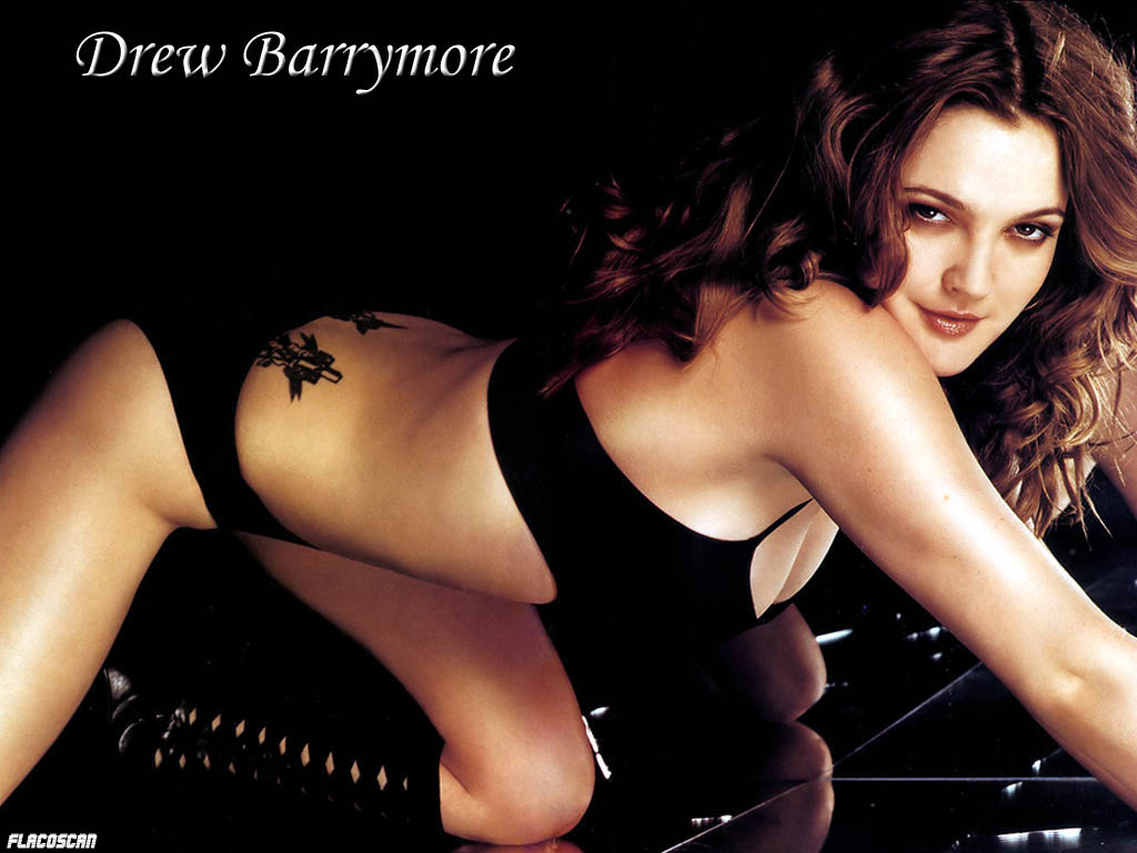 drew barrymore pussy hole