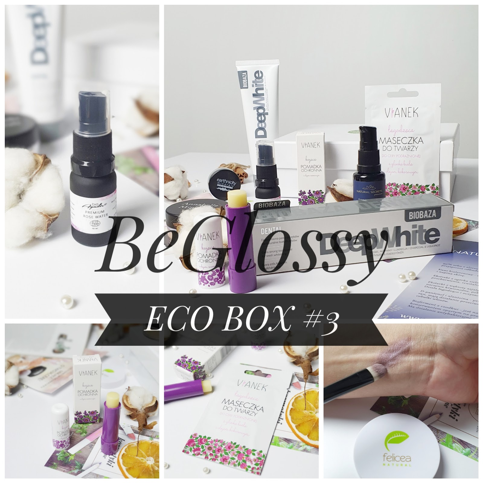 BeGlossy - ECO BOX #3 - specjalna edycja przyjazna naturze