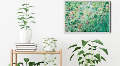 Un cuadro o lámina imprime personalidad a nuestras paredes