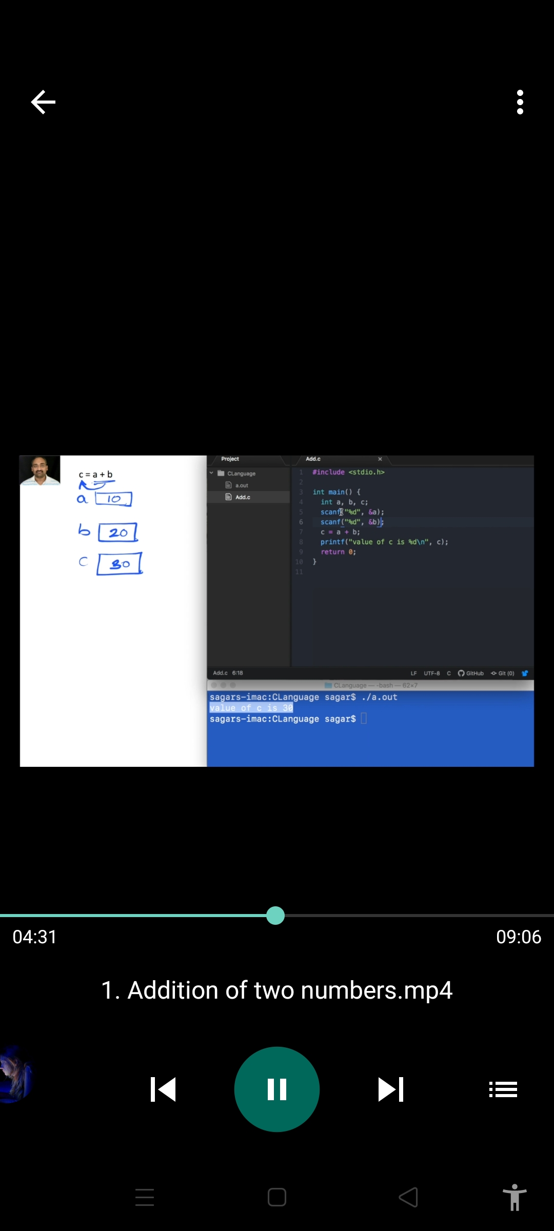 Master The C Programming - প্রাথমিক থেকে অ্যাডভান্স লেভেল ।