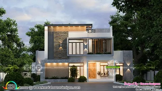 Contemporary style home 1739 square feet