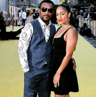 Danielle Isaie with her spouse Ashley Walters