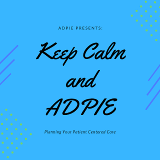 Keep Calm and ADPIE: Planning Your Patient Centered Care