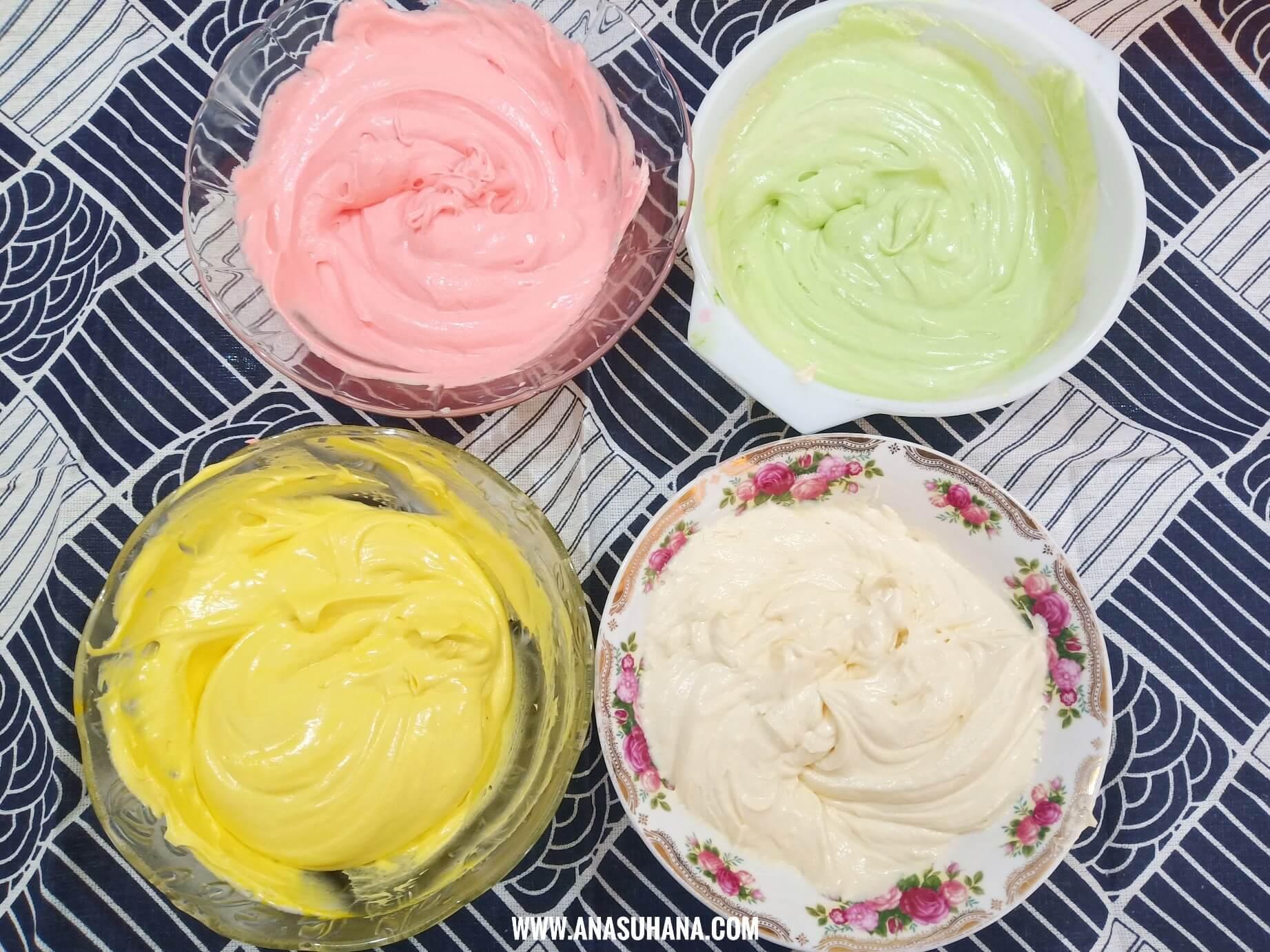 Resipi Kek Butter Marble 5 Bahan Anti Gagal Yang Sedap dan Mudah Disediakan