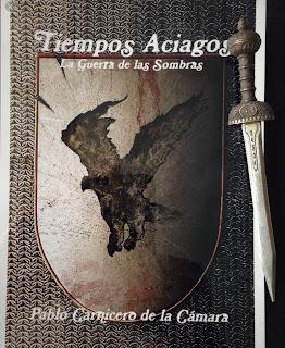 Portada del libro Tiempos aciagos, de Pablo Carnicero de la Cámara