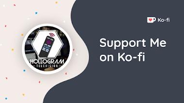 Donaciones: Hollogram Television ahora está en Ko-fi