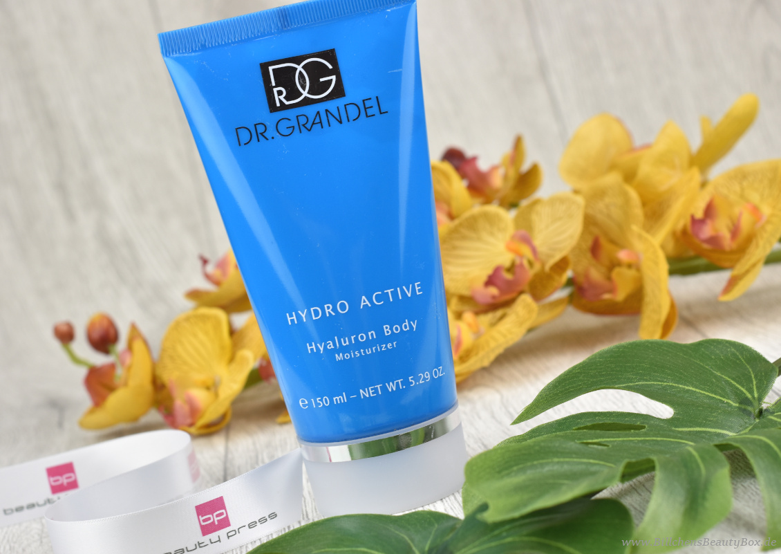 beautypress News Box Juni & Juli 2018 - Dr. Grandel - Hydro Active Hyaluron Body Moisturizer