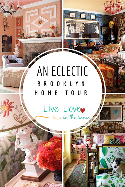 An Eclectic Brooklyn Home Tour / Home Interior / Cottage Style by Live Love in the Home
