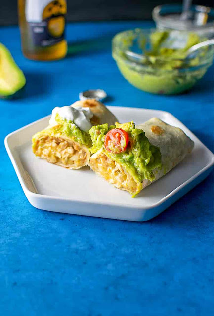 Baked Chicken Chimichangas Recipe - Food 2019