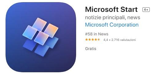 Microsoft Start è la nuova app di news per Android e iOS