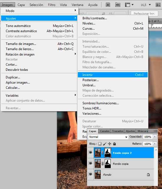Tutorial Photoshop en Español Efecto Cine Paso 04