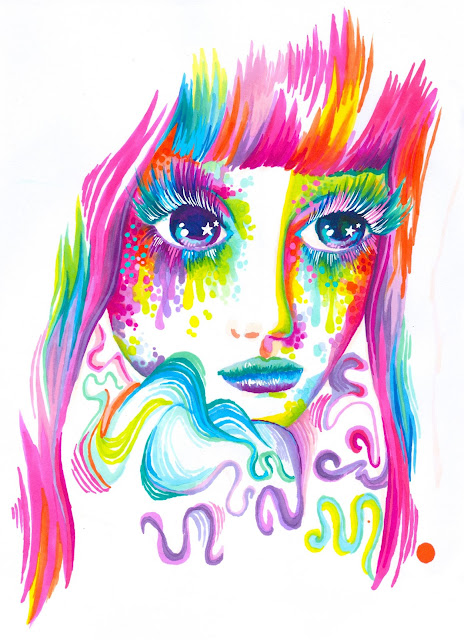 shironuri promarkers markers rainbow color art