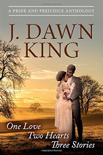 Book Cover: One Love Two Hearts Three Stories: A Pride and Prejudice Anthology by J Dawn King