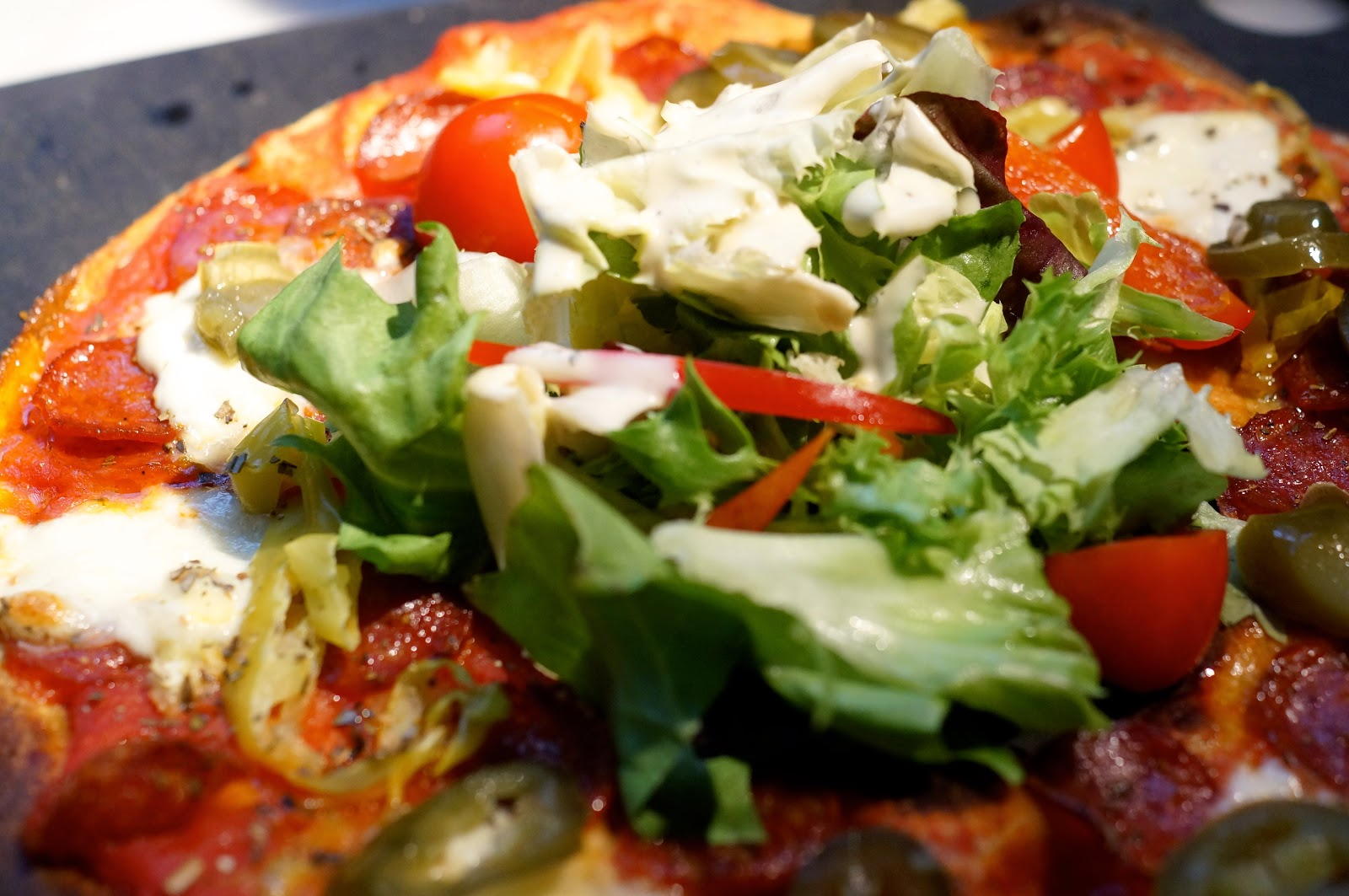 pizza express american hot pizza