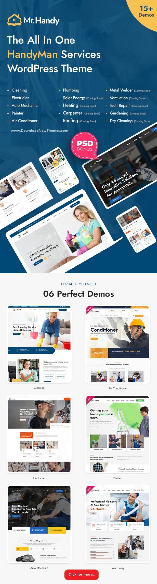 Handyman Services WordPress Theme