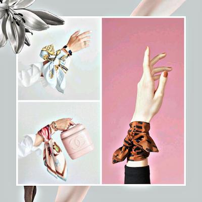 Cómo llevar un pañuelo en la muñeca