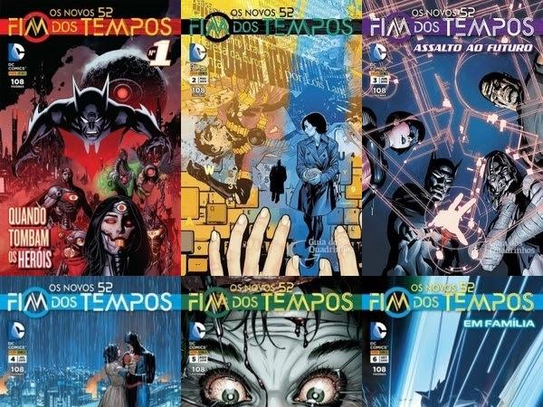 Resenha Fim dos Tempos - Os novos 52 - Vol. 1 ao 6
