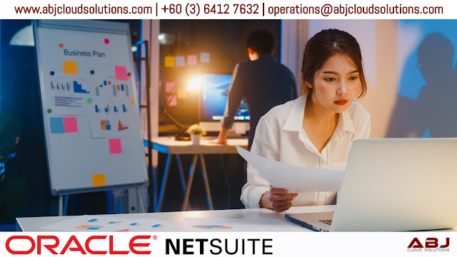 Oracle NetSuite - Innovative Cloud ERP software