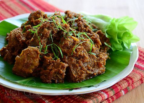 How to Make beff rendang recipe