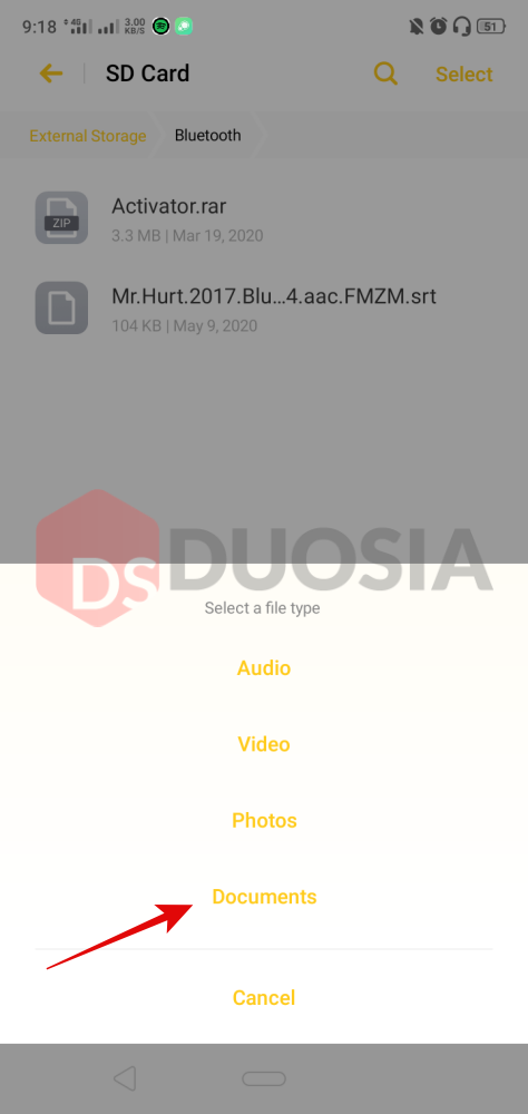 cara edit subtitle di android