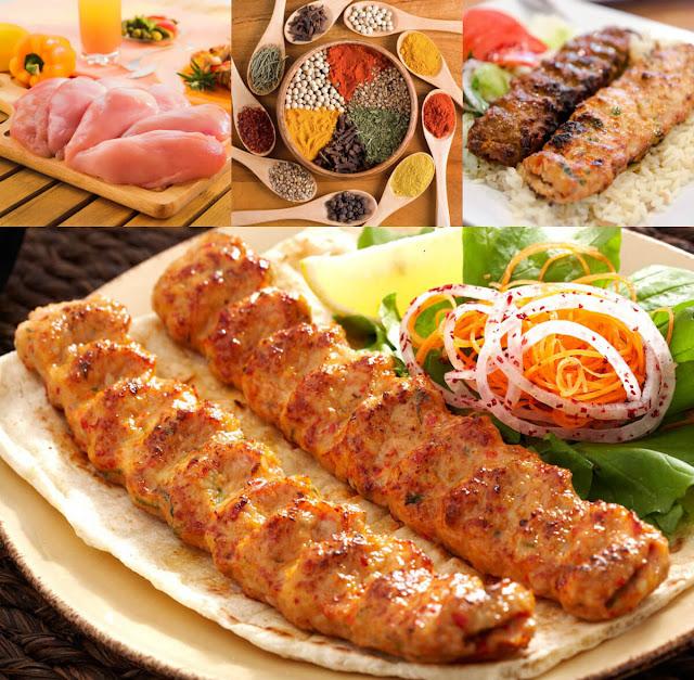 نقدم لكم عبر موقع عالم الطبخ والجمال أجمل طريقة لعمل شيش كباب الدجاج بتتبيلة لذيذة وشهية جداً في المنزل!