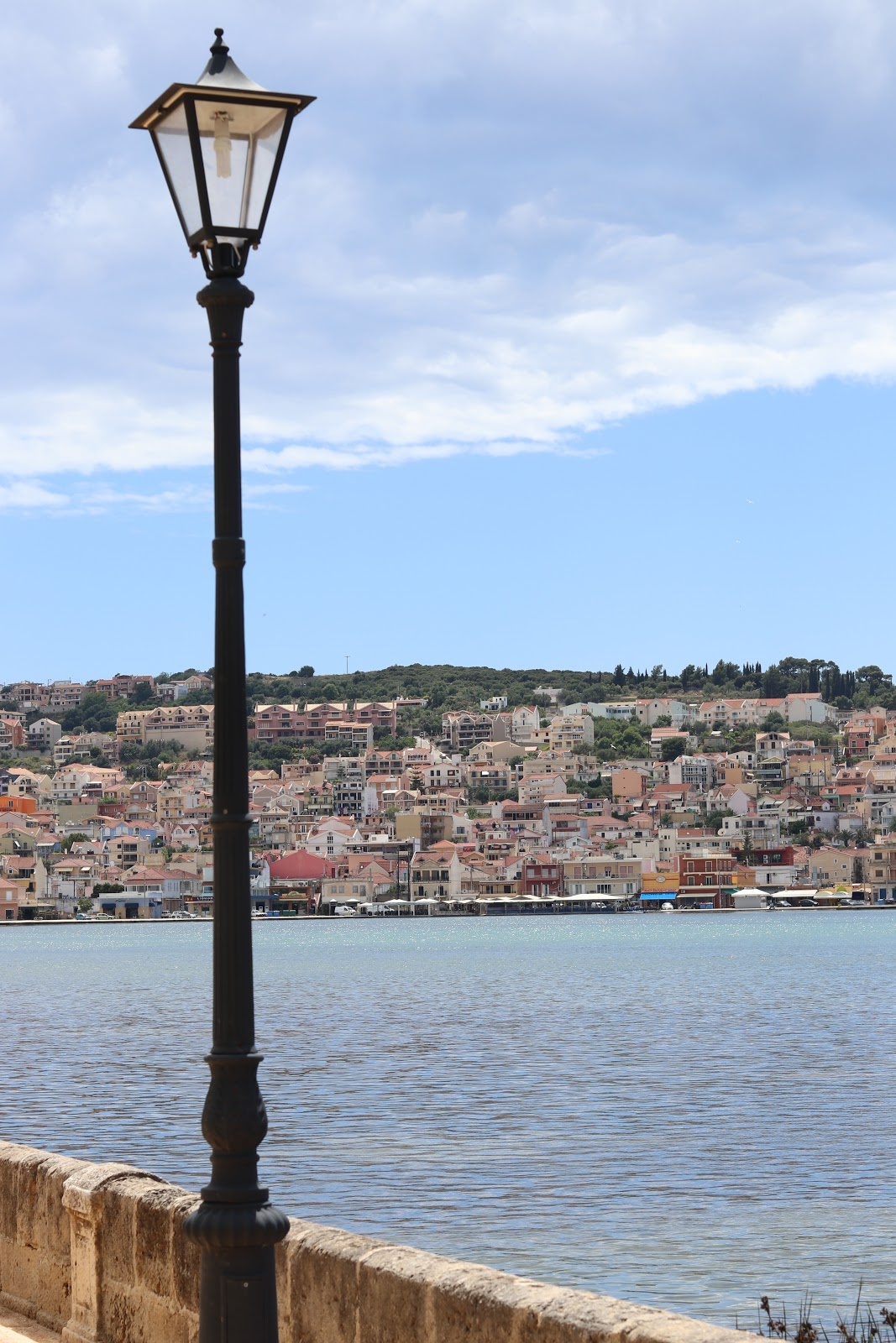 Argostoli Town across the water, Kefalonia