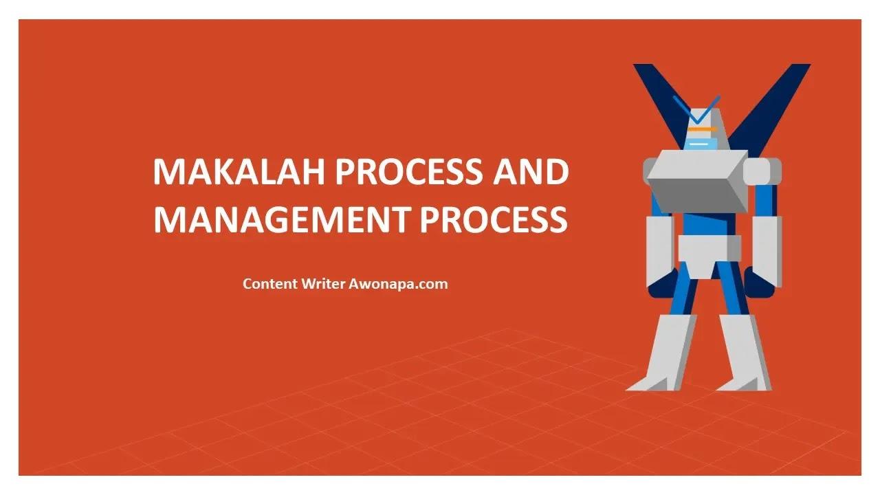 Makalah Process dan Management Process
