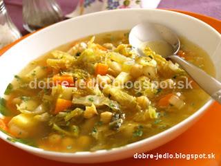 Cícerovo-kelová polievka - recepty