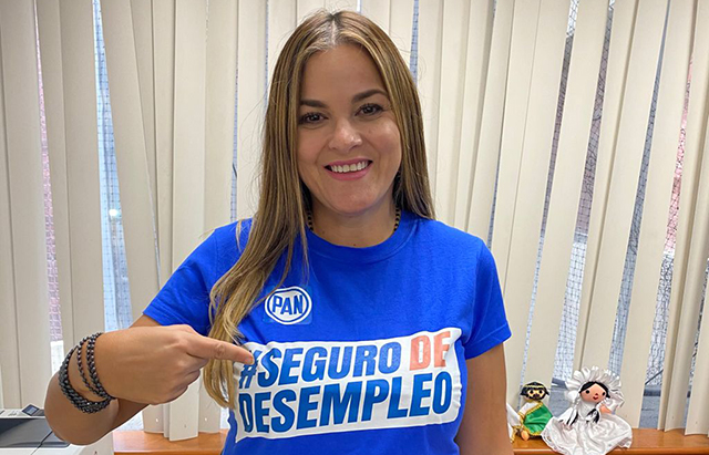 Retoma Cecilia Patrón el plan de apoyar económicamente a desempleados