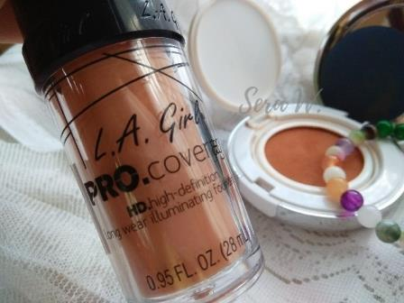 la girl foundation pro coverage long wear illuminating