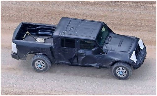 2018 Jeep Wrangler Pickup Price and Release Date