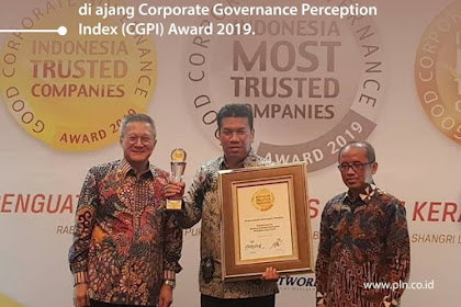 "PLN raih penghargaan predikat ""Trusted Company"""
