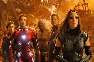 Vengadores: Infinity War (Avengers: Infinty War, Anthony Russo y Joe Russo,  Estados Unidos, 2018)