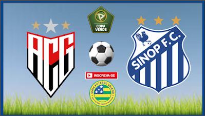 Sinop-MT será o adversário do Atlético nas oitavas de final da Copa Verde