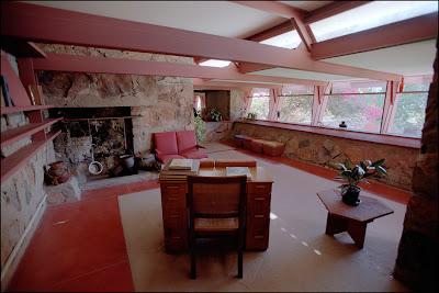 Inside Taliesin West Little House Design