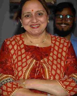 Shruti Marathe Mother