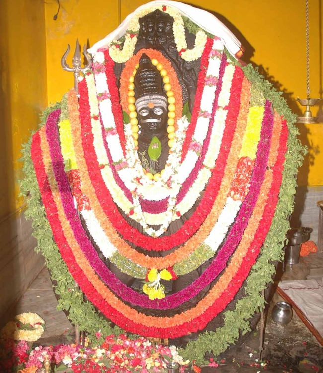 Main Deity Of Sri Pralayakalada Veerabhadra Swamy Temple